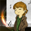 the_other_sandy: Chibi Sam Winchester listening to music (Music)