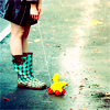 eternelle: (stock; ducks and shoes; the world carrie)