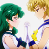 sleepyfairy: (haruka and michiru doing that gay shit)