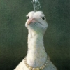 totem: (Fowl with Pearls by Michael Sowa)