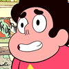 rosetintedbubbles: Steven laughing, so everyone can see it's not a big deal right! (it's a big deal) (Nervous laugh)