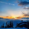 imagnocean: (Sunset in La Rosiere)