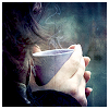 kimmieann: hands holding a cup of coffee (home)