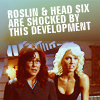 grundyscribbling: Roslin and Head Six are shocked by this development (bsg - shocked)