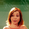 grundyscribbling: Willow talking (buffy - willow)