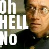"""grundyscribbling: Bill Adama """"Oh hell no"""" (bsg - oh hell no)"""