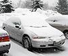 antlers2: (Snowy Car)