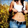 zan: (Basic: Girl's Stomach)
