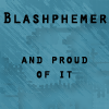 zan: (Text: Blasphemer)