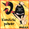 amedia: (girl ninja power)