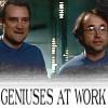 signourney: (Geniuses at Work)