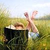 signourney: (reading)