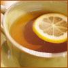 grundyscribbling: mug of tea with lemon (food - tea)
