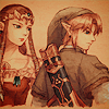 dorchadas: (Link and Zelda together)