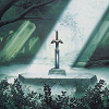 dorchadas: (Link to the Past Comic Master Sword)
