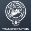 sebenikela: district 6 seal with train (D6)