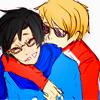 knightofcool: (hug john)