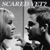 rebcake: Darla pretending to be scared in opening scene (btvs darla scared?)
