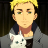 icicle33: (chris with kitty)