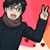 icicle33: (peace yuuri)