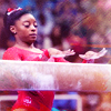 hermionesparkles: (sports ; gym ; simone ; beam)