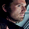 nerves_of_ice: (bucky (cw): sideways watching)