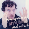 thevictoriandetective: (Your opinion is invalid)