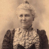 ext_1620665: Sepia photograph of middle-aged Victorian lady (Mrs. Hudson)