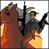 celestineangel: (Inception - Arthur on a horse)