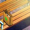 prillalar: Yuuri's bag of nuts sitting on a bench (nuts)