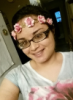 enchantedsnowforest: (pink flower headband)