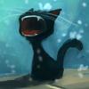 kriegsengel: (Чёрный котёнок зевает)