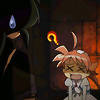 skygiants: Fakir and Duck, from Princess Tutu, with a big question mark over Duck's head (communication difficulty)