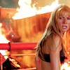 likeapotts: pepper potts from iron man looks angry and is surrounded by fire (shit is on fire tony)