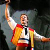 skygiants: Enjolras from Les Mis shouting revolution-tastically (la resistance lives on)