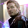 sholio: Peter from Guardians of the Galaxy looking over shoulder (Avengers-GotG-Peter)