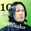 gryffindoridiot: Snape - 10 points (Default)