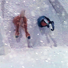 shesingsnow: (Butts in Snowbank)