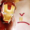 taikodragon: (Iron Man Frownie Face)