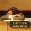 dramaturgy: ([BSG] Gaius is working hard.)