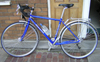 juliet: My Hewitt Cheviot bicycle in front of my house (bike cheviot)
