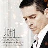 st_aurafina: John Reese, looking down, covered in fairy lights (POI: John lights)