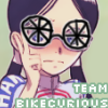 qingtian: (miyahara push bikes up nose)