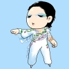mosca: fanart of Johnny Weir (korean fanart johnny has no nose)