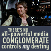 misbegotten: There's no all-powerful media conglomerate controls my destiny! (SW No Conglomerate Owns Me)