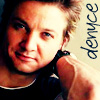 denyce: default icon of Jeremy Renner/my name (RPS: JR-Denyce)
