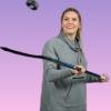 mandralyne: natalie spooner puck juggling (natalie spooner)