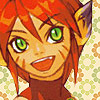 saintbounty: a picture of a cat girl grinning (grin [breath of fire 2: katt])