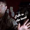 felineferal: (Talk to the hand)