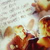 """fueschgast: Charlie and Claire with the background replaced by Charlie's """"greatest hits"""" list. (Lost - PB&J)"""